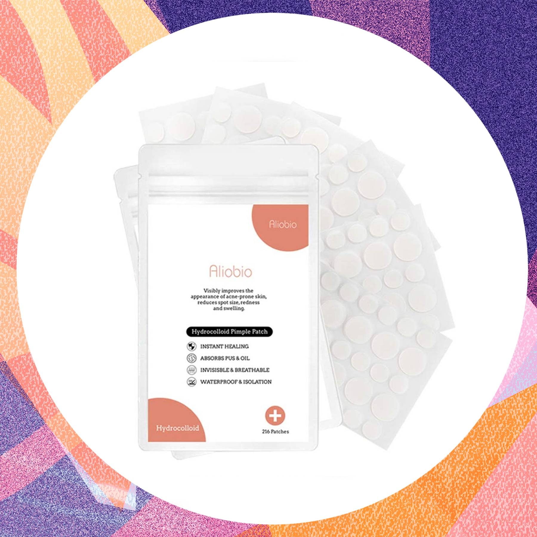 These acne patches have so many 5-star reviews on Amazon for clearing spots overnight
