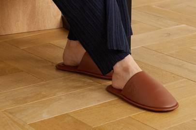 Best women's slippers UK: leather slippers