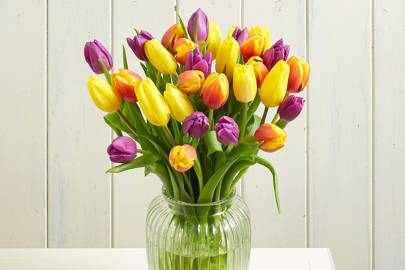 Best Easter Gifts: the letterbox tulips