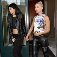 Kylie Jenner & Hailey Baldwin
