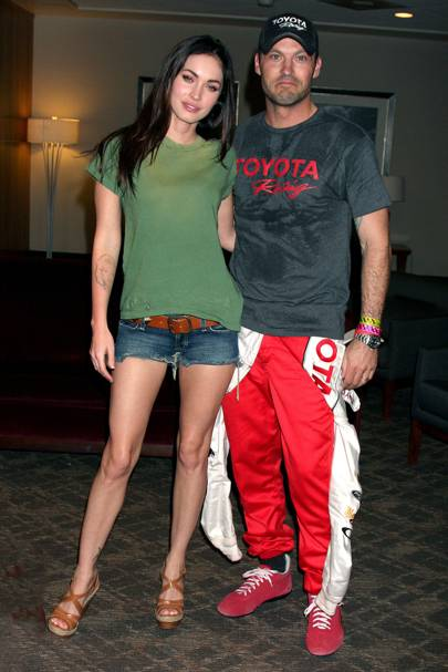 Brian Austin Green + Megan Fox = 63%