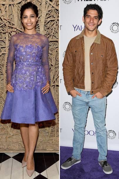 Glamour: Frieda Pinto & Tyler Posey