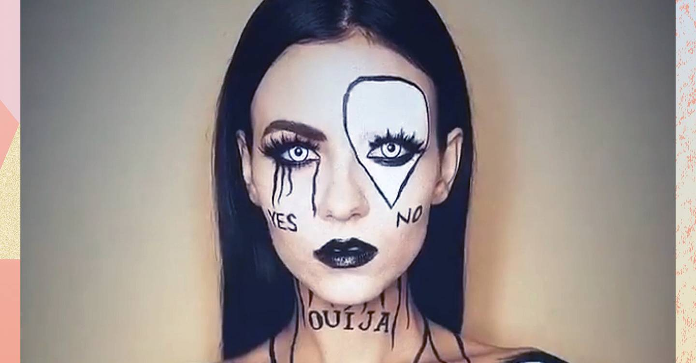 halloween makeup ideas: easy tips & instagram ideas   glamour uk