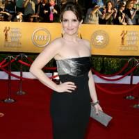 Tina Fey at the SAGs 2012
