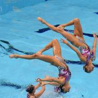 Team GB Synchronised Swimmers
