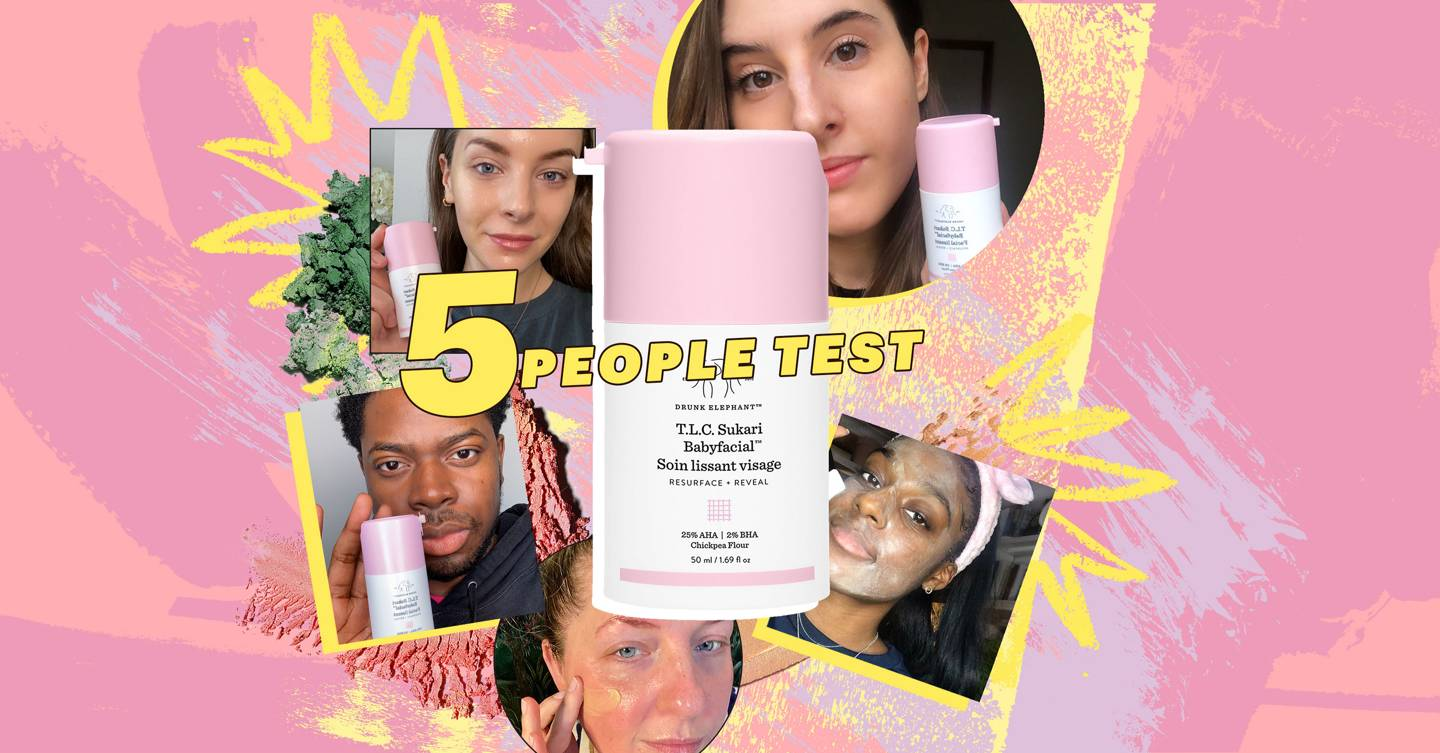 We tried Baby Facial from cult brand Drunk Elephant that everyone's taking about and we reveal if it's really worth the hype