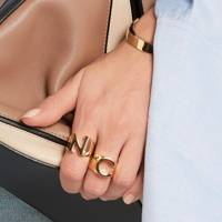 Chloé Alphabet rings