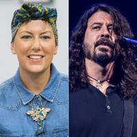 Foo Fighters honour cancer campaigner Laura Plane in touching Glastonbury dedication
