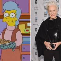 Glenn Close as Mona Simpson in The Simpsons