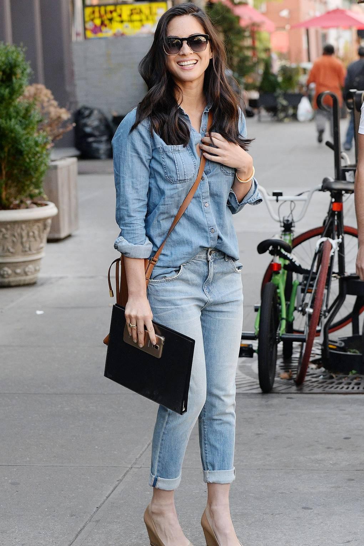 Double Denim Fashion Trend – Celebrity Style Inspiration | Glamour UK