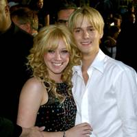 Aaron Carter & Hilary Duff