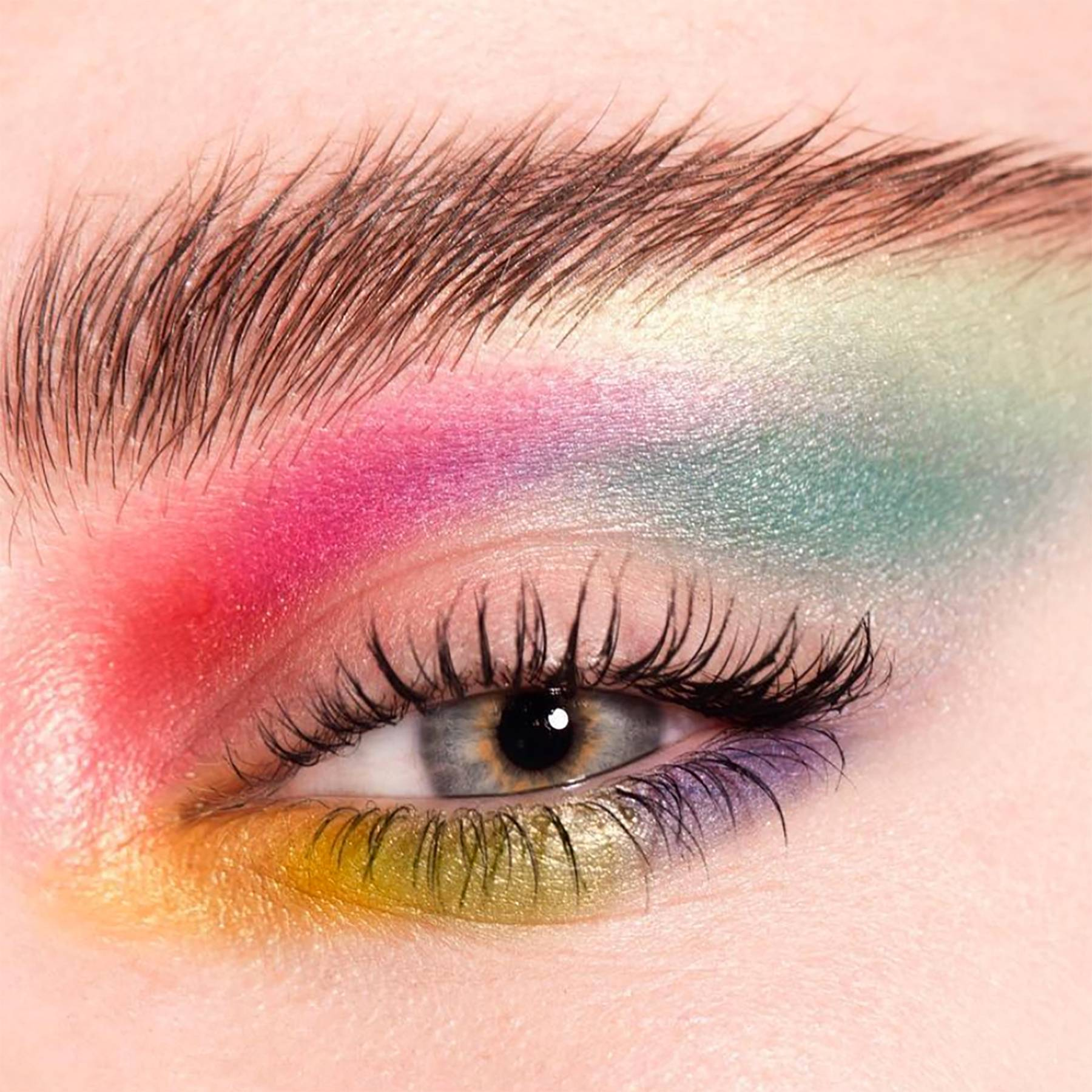 These are the boldest and brightest makeup ideas you need to celebrate Pride Month
