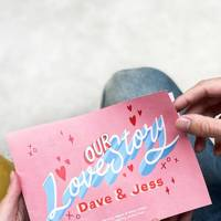 Personal Valentine's gifts for her: the love story
