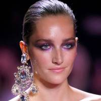The purple eyes at Alexandre Vauthier