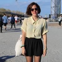Ana, Student, Primavera Festival