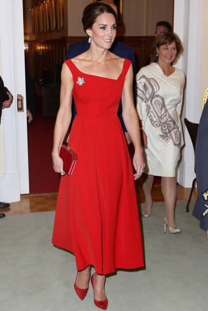 7. The Duchess of Cambridge