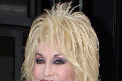 Dolly Parton S Spiky Hair Celebrity Hair And Hairstyles
