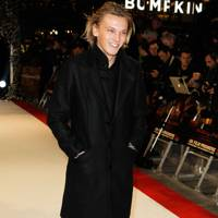 Jamie Campbell Bower at the UK premiere of Breaking Dawn