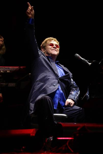Elton John at Bestival