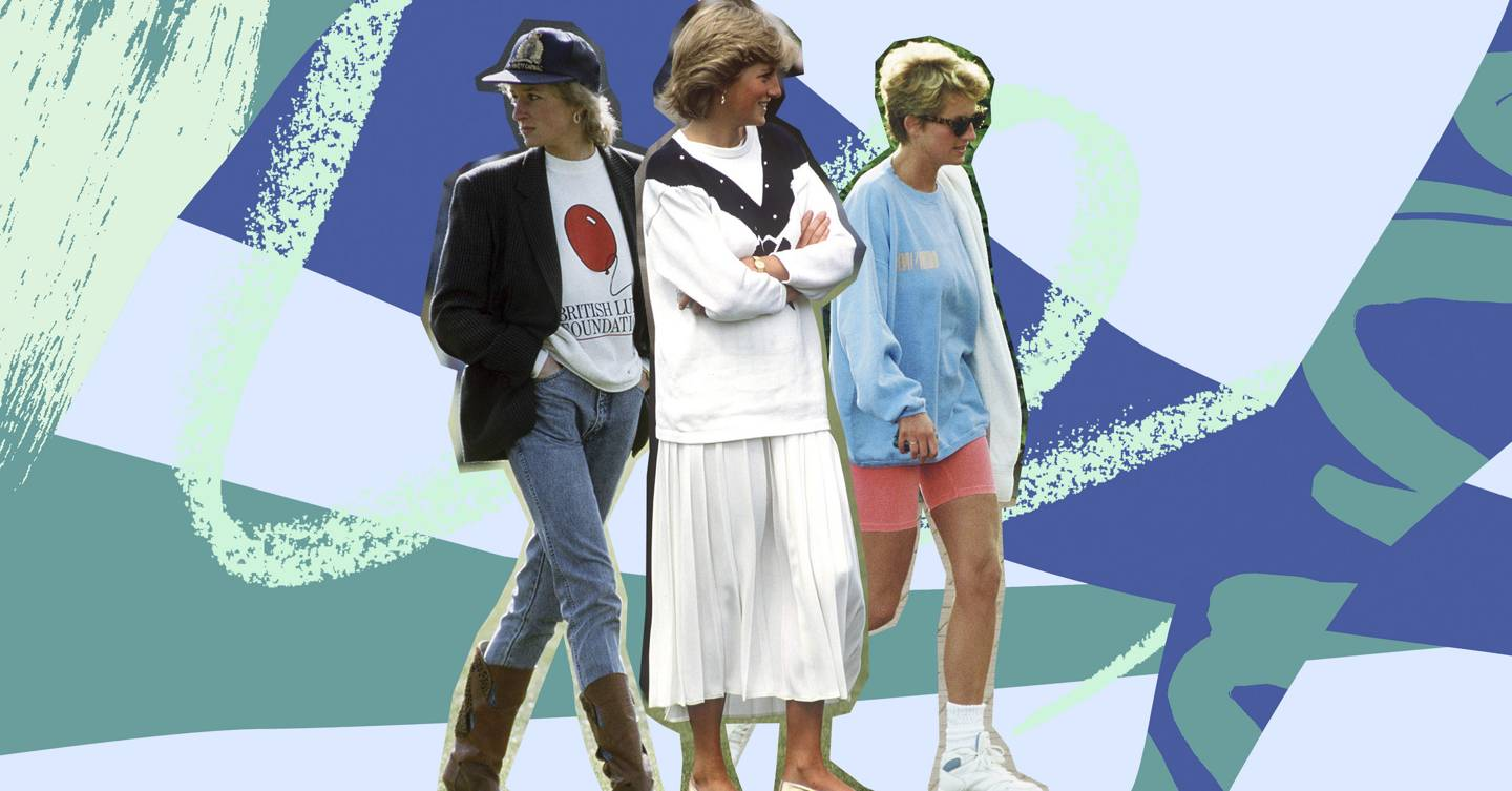 The 13 types of self-isolation wardrobe as told by Princess Diana's most iconic looks