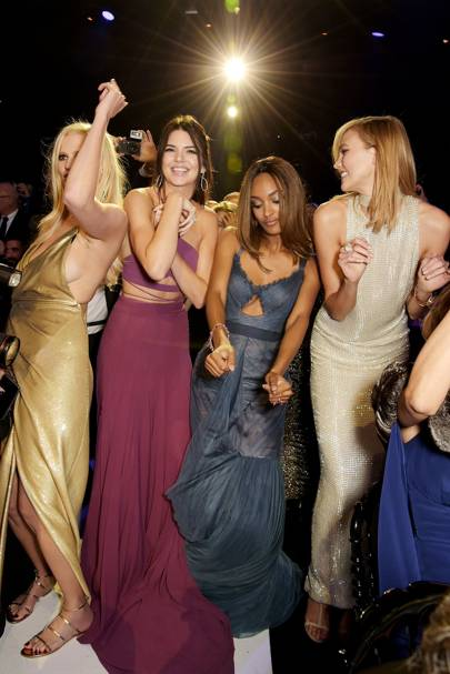 Lara Stone, Kendall Jenner, Jourdan Dunn and Karlie Kloss