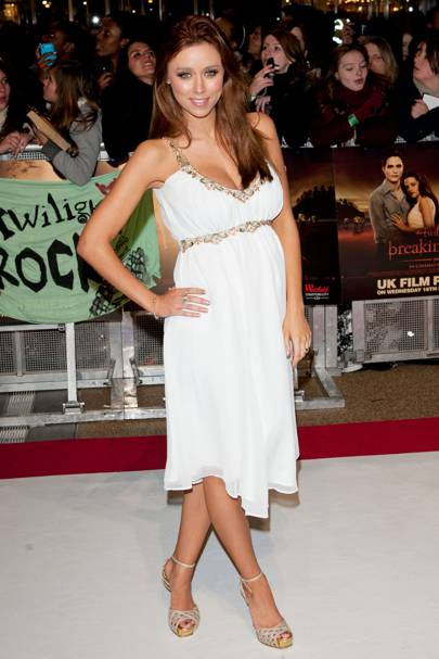 Una Healy at the UK premiere of Breaking Dawn
