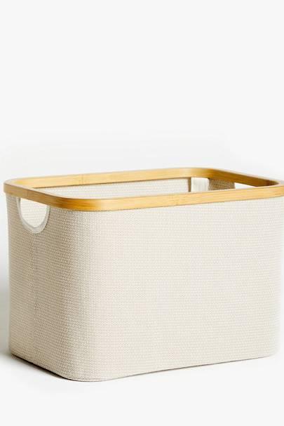 Best storage solutions: the storage basket