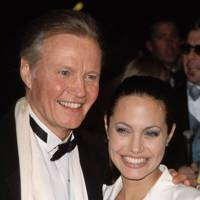 Angelina Jolie & Jon Voight