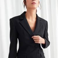 The structured blazer