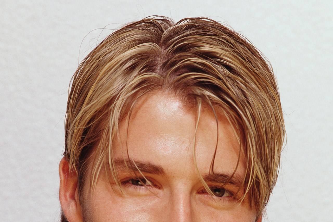 Men's Hair Trend 90s - Hair Curtains
