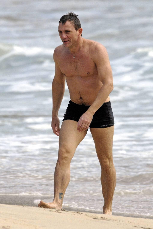 bd51ee67e2 Men Swimming Trunks Daniel Craig David Beckham | Glamour UK