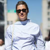 THE FROW LOOK: Shirts worn back to front