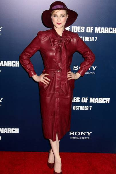 DON'T #6: Evan Rachel Wood at The Ides Of March premiere, October