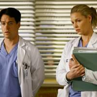 The Izzie and George Hookup on Grey's Anatomy