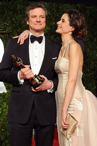 Colin Firth's Oscar win