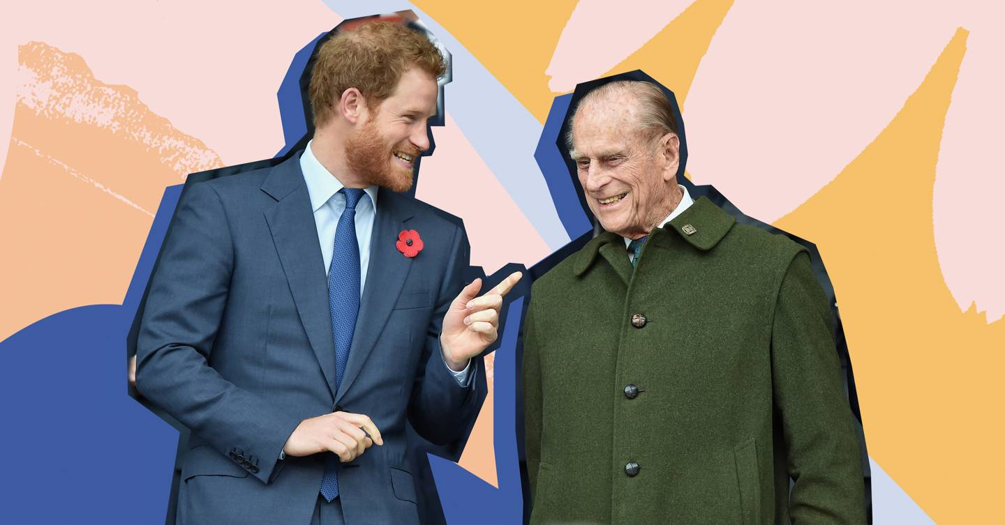 This vintage photo of Prince Philip is going viral - because he looks *exactly* like Prince Harry
