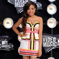 Dionne Bromfield at the MTV VMAs 2011