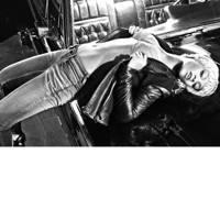 Rihanna poses for Armani Jeans