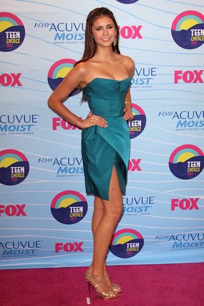 Nina Dobrev at the Teen Choice Awards 2012