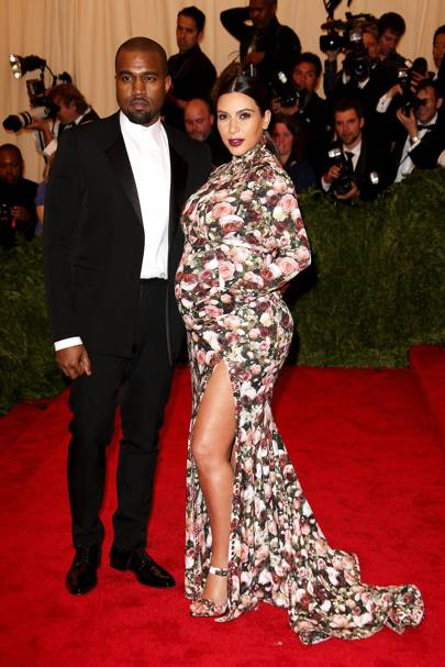 Kanye West & Kim Kardashian at the Met Gala