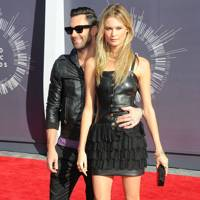 Adam Levine and Behati Prisloo