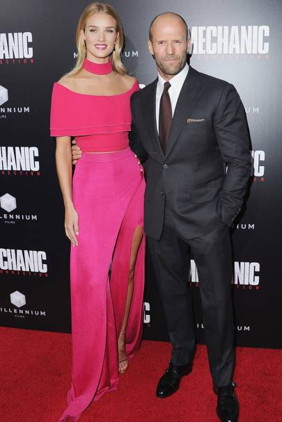 7. Rosie Huntington-Whiteley and Jason Statham