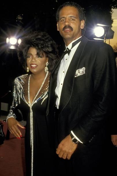 Oprah Winfrey & Stedman Graham
