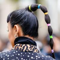 Colourful bubble braid