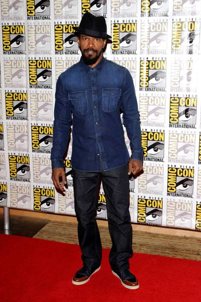 Jamie Foxx at Comic-Con 2012