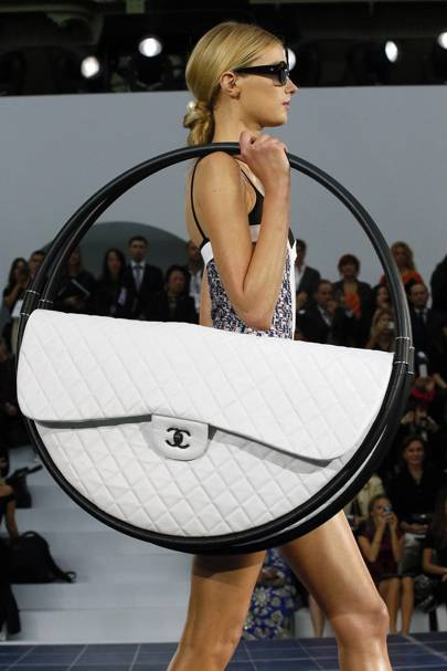 Chanel's Hula Hoops Bags