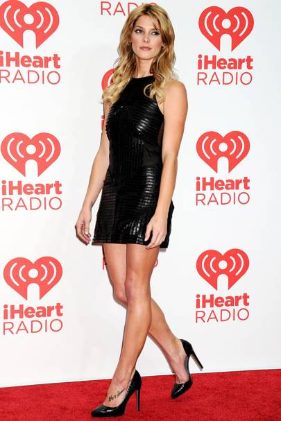 Ashley Greene at the iHeartRadio Music Festival