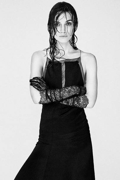 Keira Knightley poses topless for Interview Magazine ...