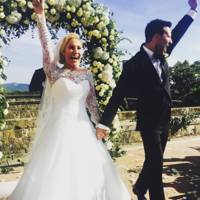 Heidi Range is married! And her wedding dress is gorgeous