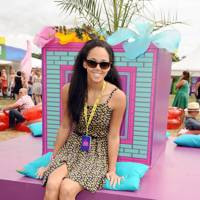 Katerina Johnson Thompson at V Festival